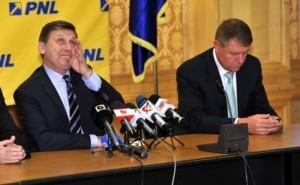 Crin Antonescu lui Klaus Iohannis