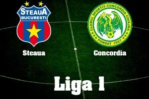 Liga I, restanta Steaua - Concordia Chiajna