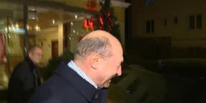 Băsescu a petrecut cu Elena Udrea şi Emil Boc