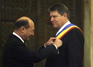Ce zice Băsescu despre Johannis