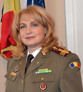 Colonelul medic Florentina Ioniţă