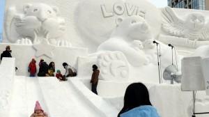 Festivalul zăpezii în Japoni