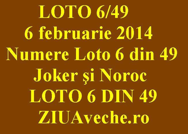 loto 6 49 12 februarie 2017