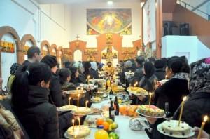 Biserica ortodoxă sărbătorește sâmbătă, 14 februarie, Moșii de iarnă.