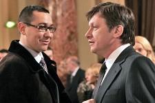 Crin Antonescu și Victor Ponta