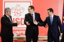 Liderii USL, Ponta, Oprea și Constantin îl ignoră pe Antonescu