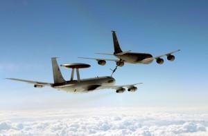 AWACS NATO E-3A in Romania