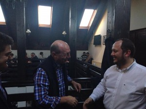 Băsescu s-a întâlnit cu liderii PMP la un restaurant, după miting