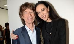 L'Wren Scott şi Mick Jagger, 2013