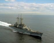 Distrugătorul USS Truxtun, în Marea Neagră