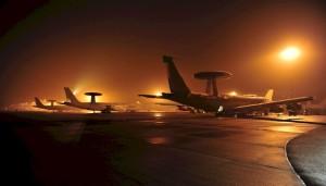 AWACS in spatiul aerian romanesc