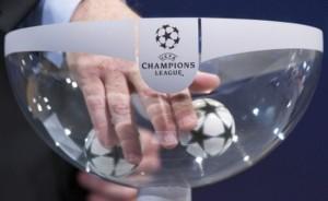 Tragerea la sorți pentru  Champions League.