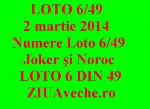 Numere Loto 6/49