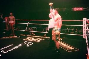 Box: Ronald Gavril, victorie prin KO tehnic la New York