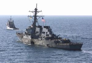 Distrugătorul american USS Donald Cook, escală la Constanţa