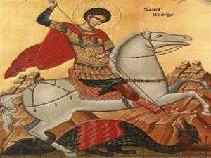 Sfântul Gheorghe, purtătorul de biruinţă