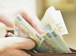 Câştigul salarial mediu nominal net, în creştere cu 4,9%, în martie