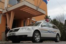 Bărbat împuşcat cu bile de cauciuc lângă IPJ Ţimiş