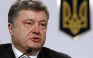 Poroșenko promite să pună capăt războiului.