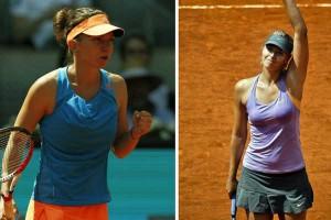 Halep - Șarapova, finala de la Roland Garros