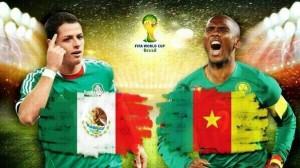Campionatul Mondial de fotbal 2014. Mexic - Camerun, 1-0