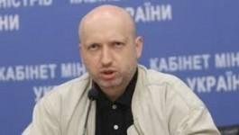 Oleksandr Turcinov Oleksandr Turcinov propune instituirea legii marţiale în estul Ucrainei