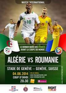 Fotbal: Romania - Ageria, scor 1-2