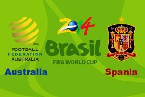Campionatul Mondial de fotbal 2014. Australia-Spania