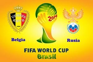 Campionatul Mondial de fotbal 2014. Belgia - Rusia