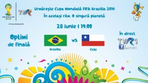 CM fotbal 2014, optimi. Brazilia - Chile (video live)