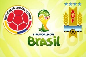 CM fotbal 2014, optimi. Columbia - Uruguay