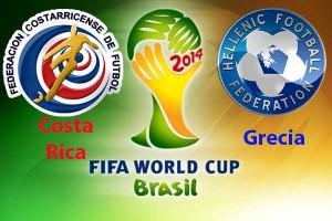 Campionatul Mondial de Fotbal 2014. Costa Rica - Grecia