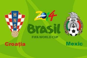 Campionatul Mondial de fotbal 2014. Croatia - Mexic