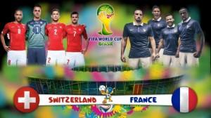 Campionatul Mondial de Fotbal 2014. Elvetia - Franta, scor 2-5