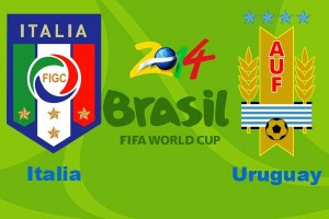 Campionatul Mondial de Fotbal 2014. Italia – Uruguay