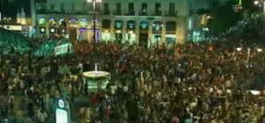 Manifestatii de amploare in Spania