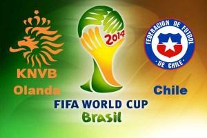 Campionatul Mondial de fotbal 2014. Olanda - Chile