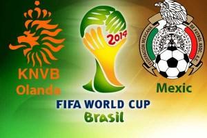 Campionatul Mondial de Fotbal 2014. Olanda - Mexic