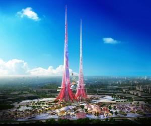China construieşte cel mai înalt turn din lume