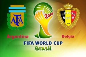 Campionatul Mondial de Fotbal 2014. Argentina - Belgia