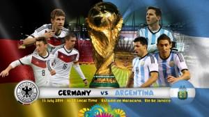 Campionatul Mondial de fotbal 2014. Germania - Argentina