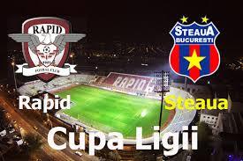 Cupa Ligii. Steaua - Rapid, scor  2-1