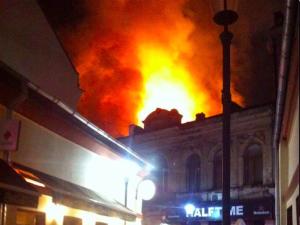 Incendiul din Centrul Vechi, provocat pentru a ascunde o crimă
