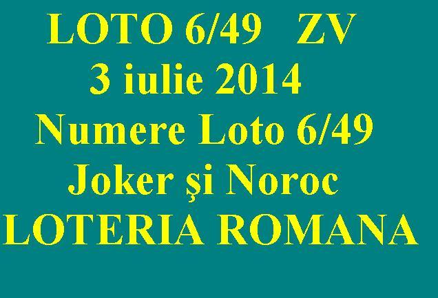 Numere Loto Germania 6 49