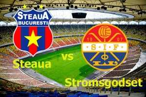 Champions League. Steaua – Stromsgodset