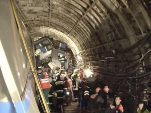 Doi suspecți reținuți după accidentul de la metroul din Moscova