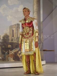 Radu Mazăre a fost împăratul Cezar (foto)