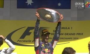 Daniel Ricciardo a câștigat MP al Belgiei