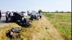 Grav accident de circulaţie în Vrancea