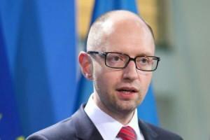 Premierul ucrainean, Arseni Iațeniuk.